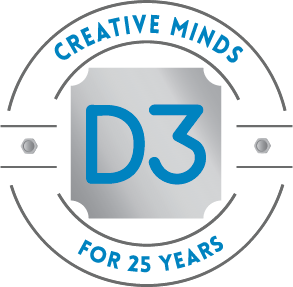 D3 Creative Minds For 25 Years