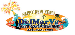 Logo for Happy New Year from DelMarVa